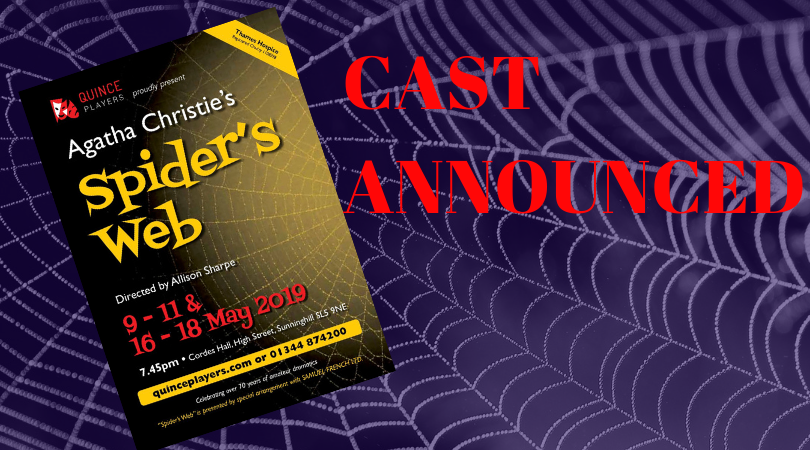 Cast Announced For Agatha Christies Spiders Web Quince